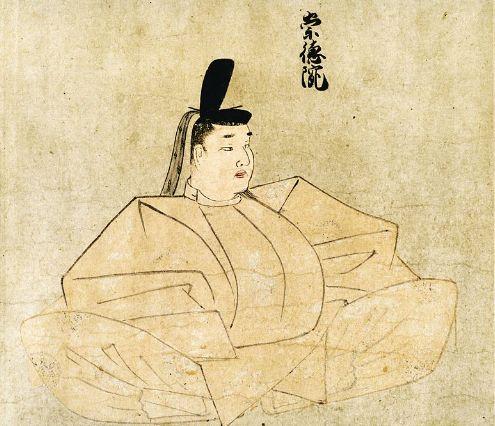 崇徳天皇肖像画