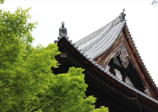 相国寺法堂の屋根