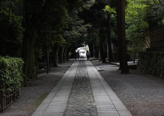 大徳寺から今宮神社へ続く道