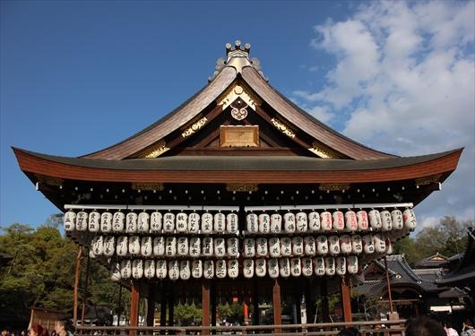 八坂神社舞殿