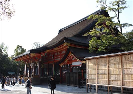 八坂神社本殿祇園造