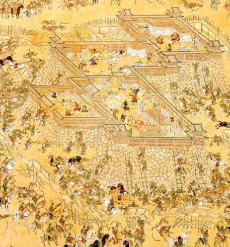 慶長の役蔚山籠城図