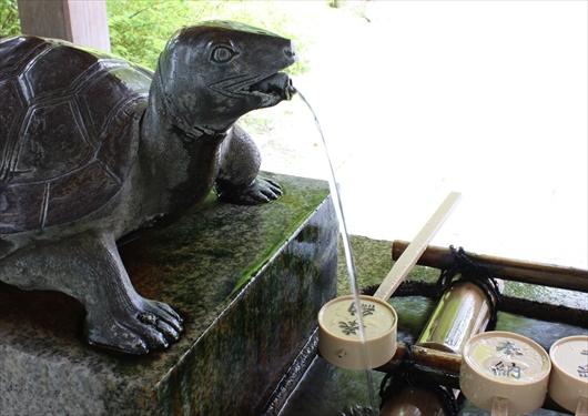 松尾大社亀の井