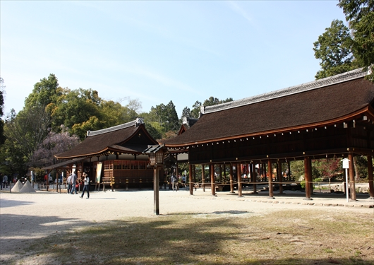 上賀茂神社境内