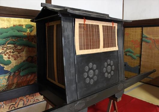 大覚寺の御輿