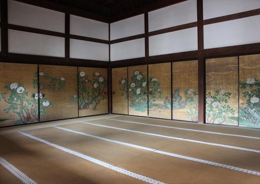 大覚寺の襖絵②