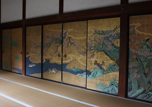 大覚寺の襖絵