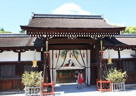 下鴨神社中門