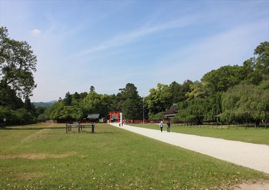上賀茂神社参道