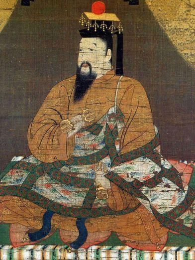 後醍醐天皇肖像画