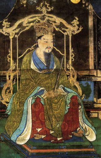 桓武天皇肖像画
