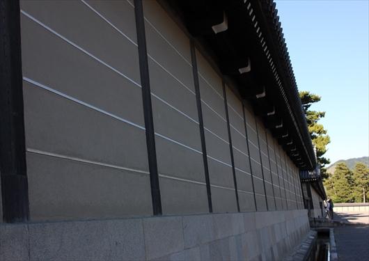 京都御所の壁