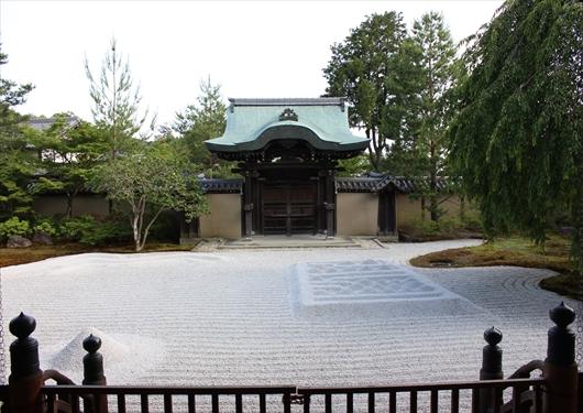 高台寺の勅使門