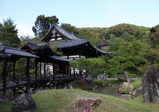 高台寺観月台と開山堂