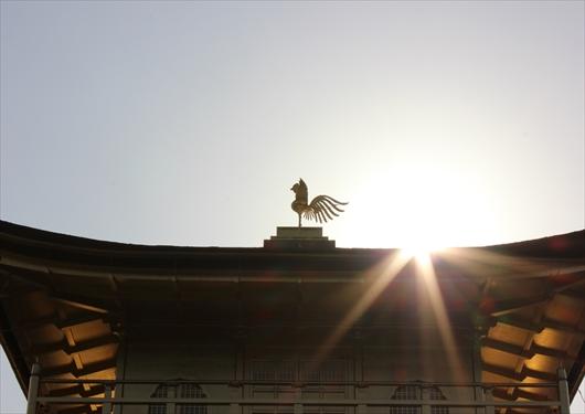 金閣の鳳凰像