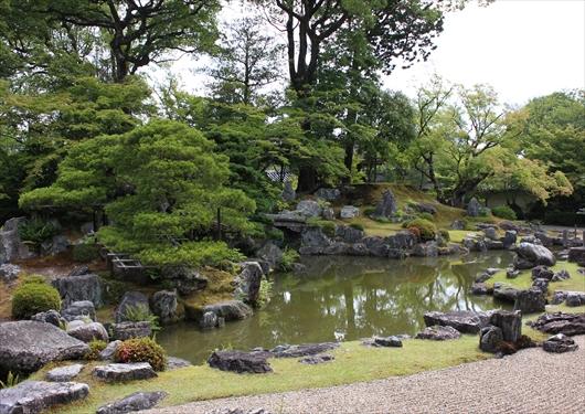 三宝院の庭園2