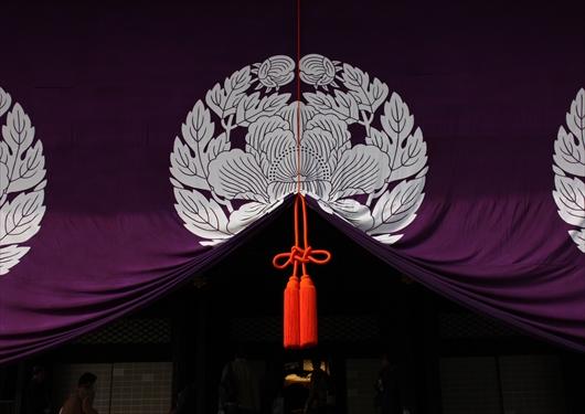 東本願寺御影堂前