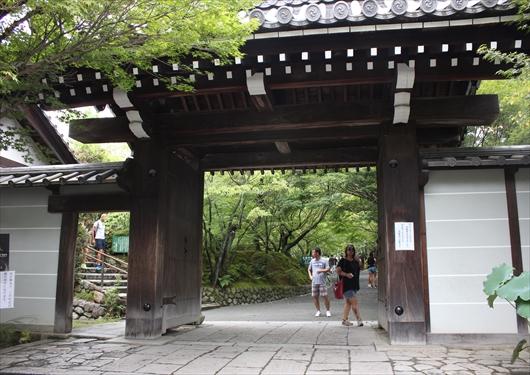 竜安寺山門