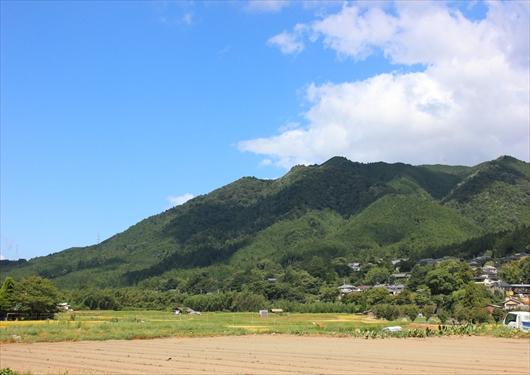 京都大原田園風景