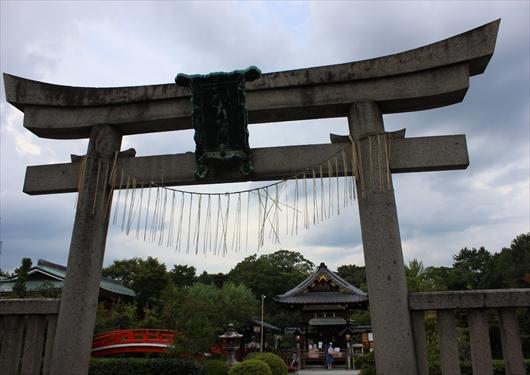 神泉苑の鳥居
