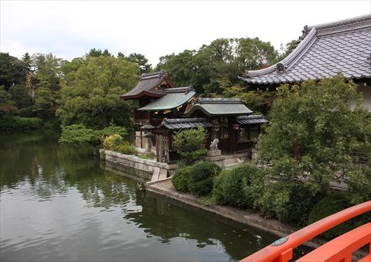 法成橋から善女龍王社