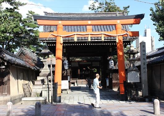 下御霊神社と寺町通り