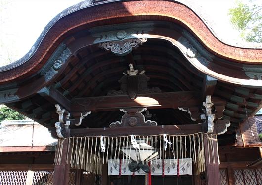 下御霊神社拝殿