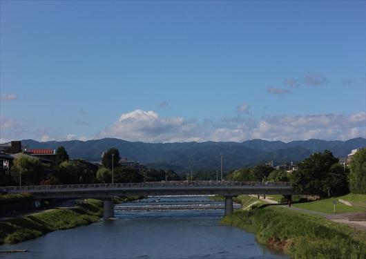 鴨川からの景色