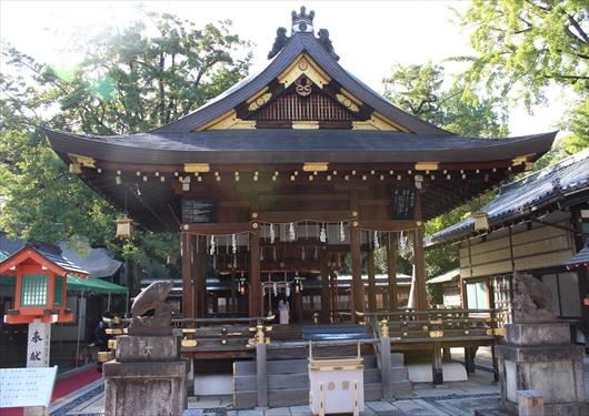 護王神社と拝殿