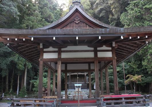 月読神社舞殿