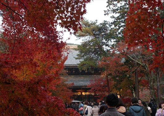 南禅寺紅葉と三門