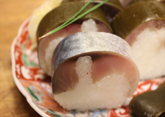 いづ重鯖寿司