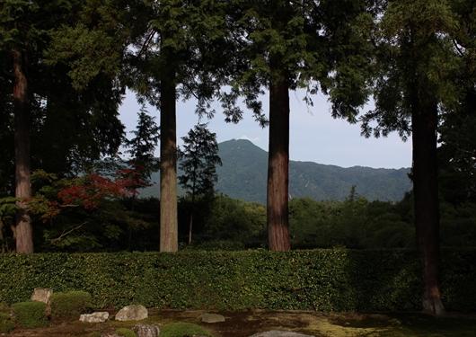 比叡山借景庭園