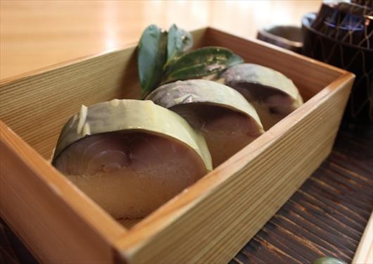 鯖寿司鯖街道花折ランチ