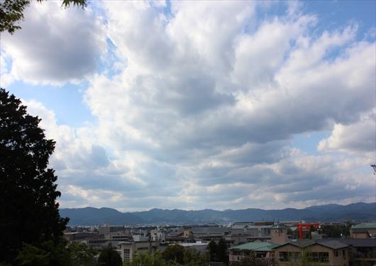 粟田神社からの景色