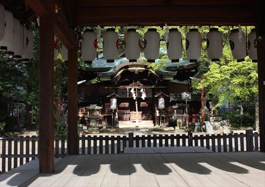 粟田神社の本殿