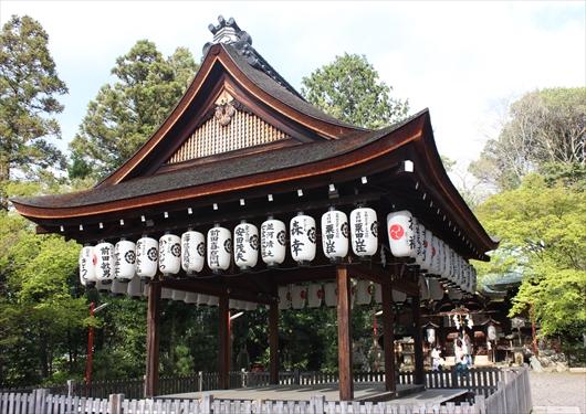 粟田神社舞殿