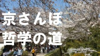 京都散歩コース哲学の道