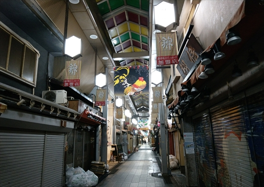 夜の錦市場