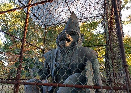 新日吉神宮狛猿