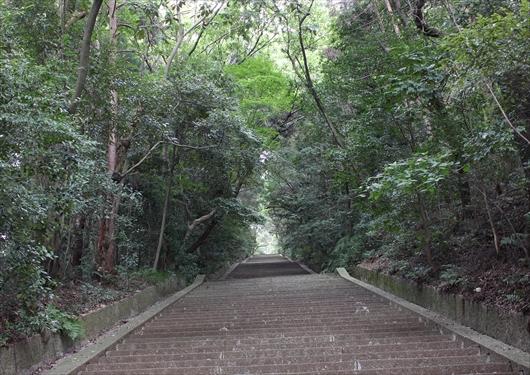 豊国廟の階段