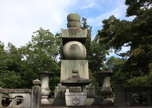 豊国廟の五輪の塔