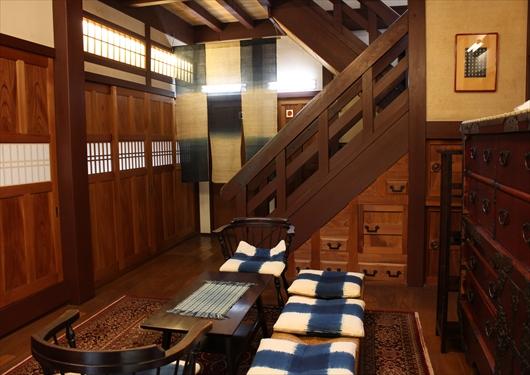 松乃鰻寮の玄関