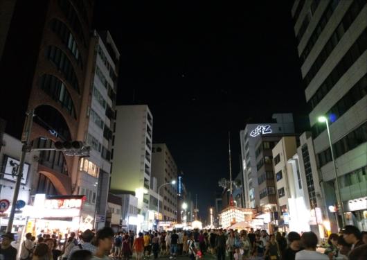 祇園祭宵山四条通り