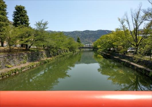 平安神宮前の疎水