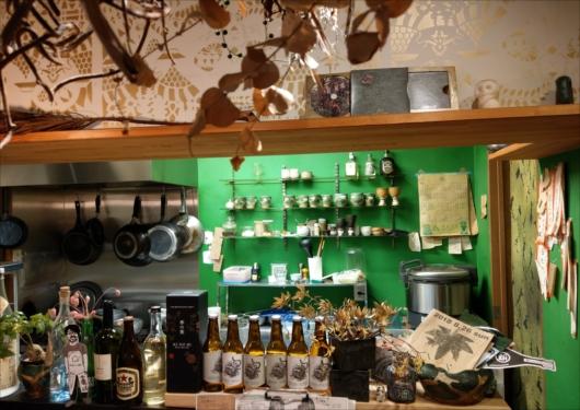 森林食堂キッチン