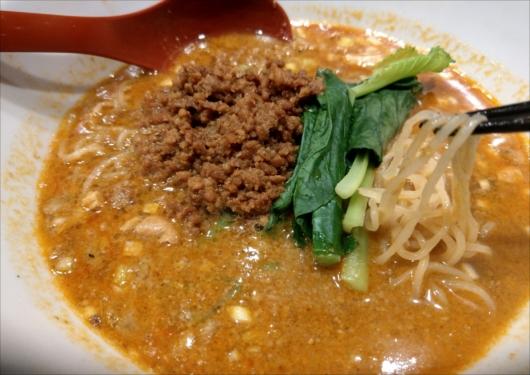 煌力の担々麺細麺