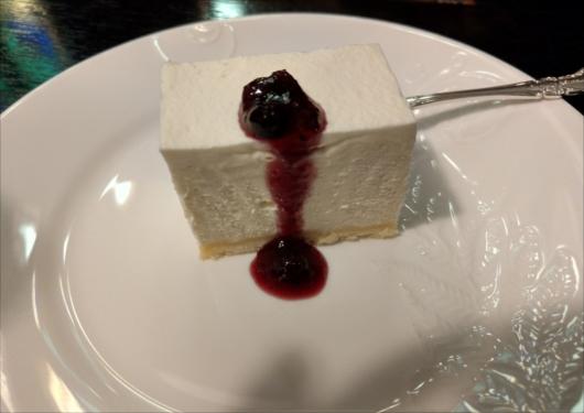 フランソア喫茶室レアチーズケーキ