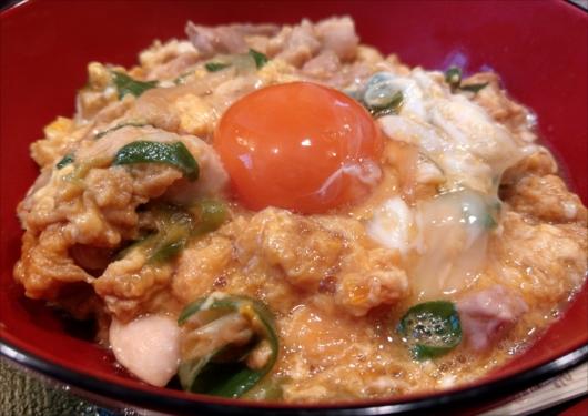 八起庵の親子丼1650円