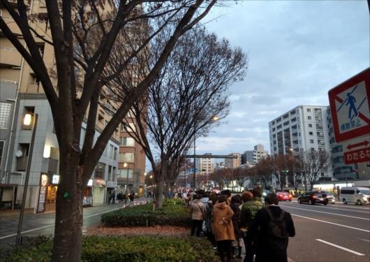 御金神社の正月行列